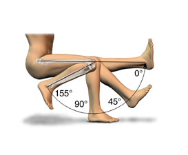 Full bending knee replacement India