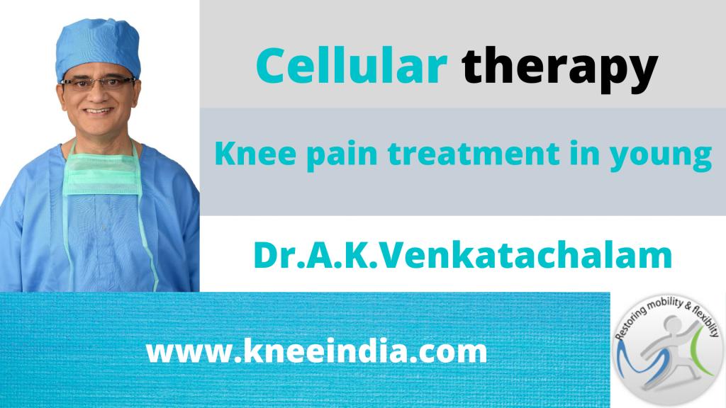 Chondromalacia patella treatment with cellular therapy India